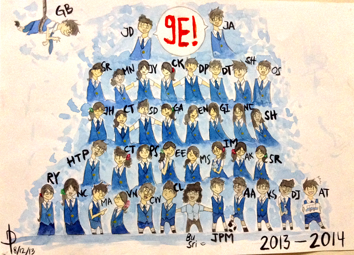 Class IX E by maltese101