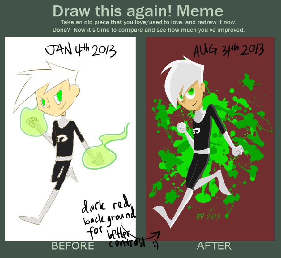 Draw This Again Danny Phantom by maltese101