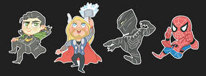 More Marvel Stickers!