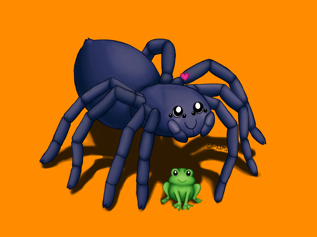Tarantula's Little Pet by Elvan-Lady
