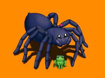 Tarantula's Little Pet by Elvan-Lady