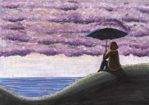 Commission: Purple Skies