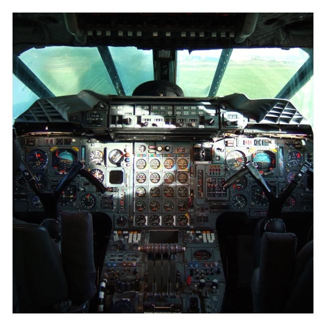 Cockpit by clockworkpurple
