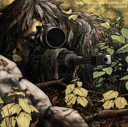 The sniper of CW by tttroy