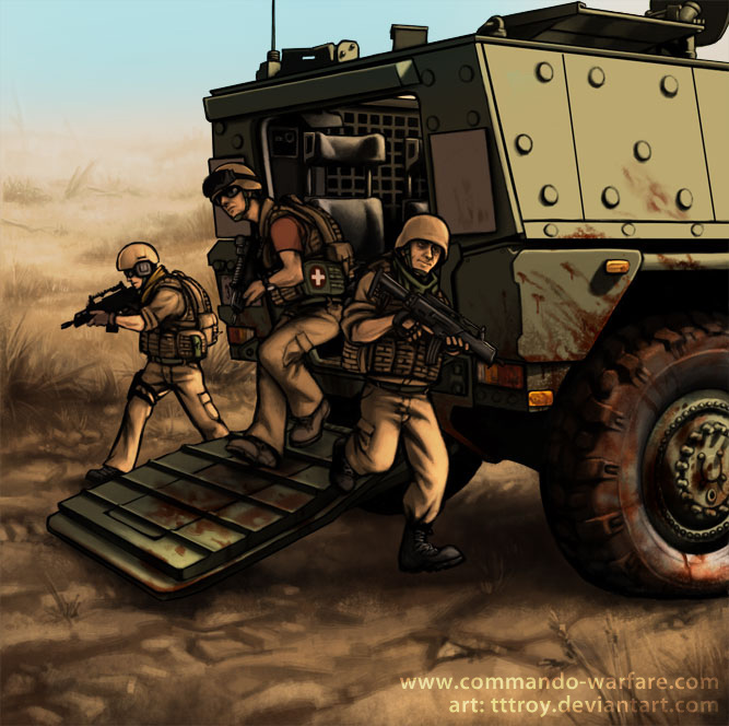 APC of CW by tttroy