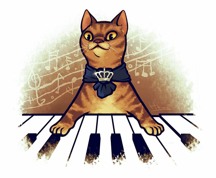 keyboard cat by tttroy