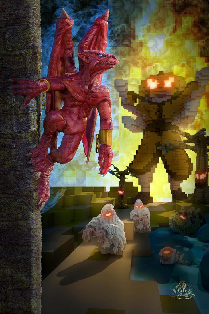 Gargoyle's Quest tribute by MadlegBadleg