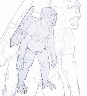 Doodle Chimp