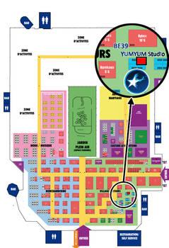 Japan Expo 2012 - Plan