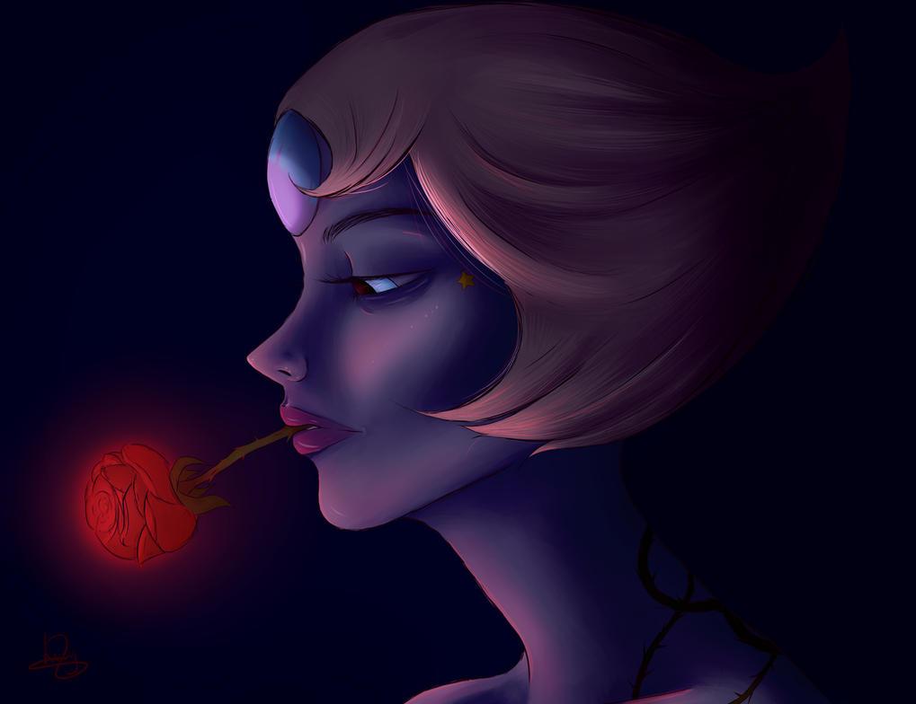 Pearl's Lament (Steven Universe Fan Art) by LucyMacrae