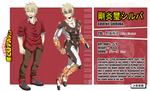 [ BnHA OC - ID Card ] Gouenji Shiruba