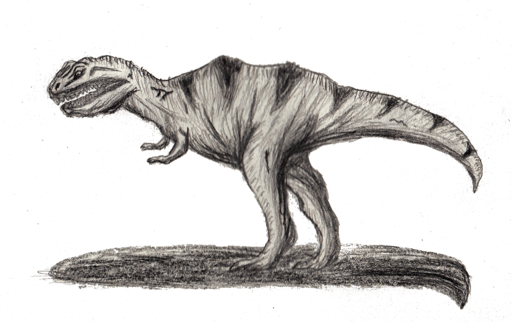 Almost Dinosaur by xhunterko