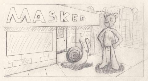 104: Mask by xhunterko