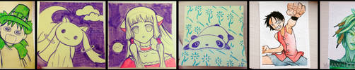 Daily Doodle - week 1 by tingc888