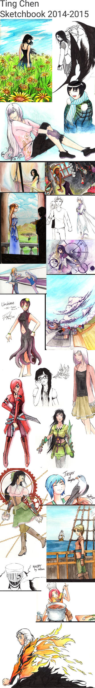 Sketchdump 2014-2015 by tingc888