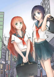 Tenth Prism - Niki and Verna