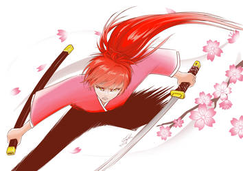 Rurouni Kenshin Fanart - Procreate by tingc888
