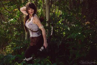 Lara Croft by Horo Von Kaida by HoroVonKaida
