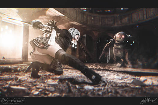 Nier:Automata - 2B Cosplay - Horo Von Kaida