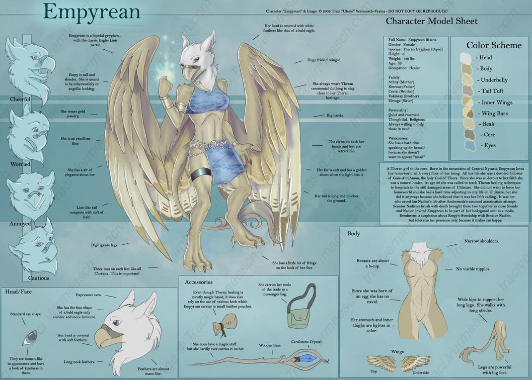 Empyrean - Character Sheet by Ulario