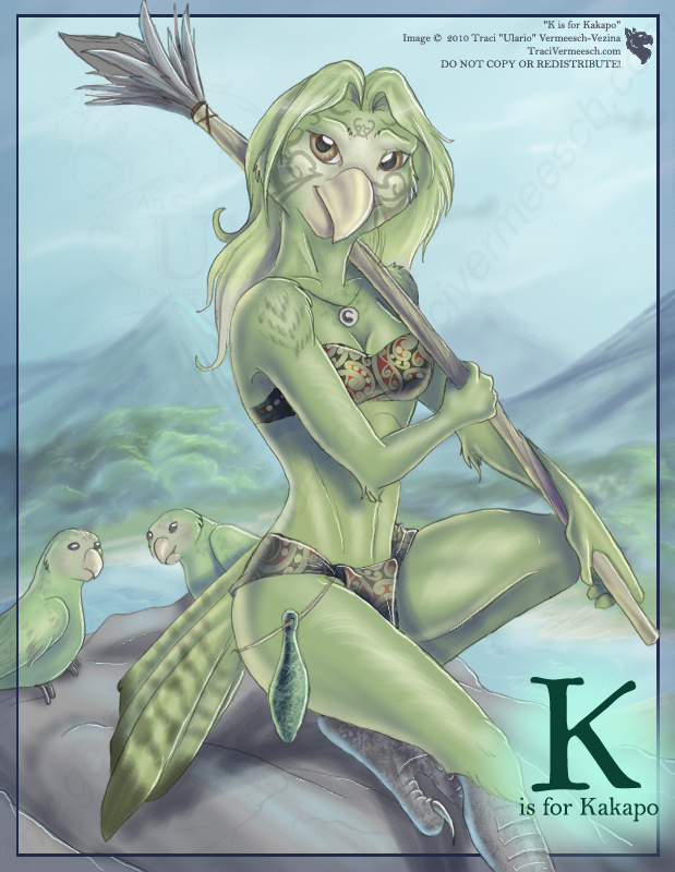 Obscure Animal Alphabet - K by Ulario