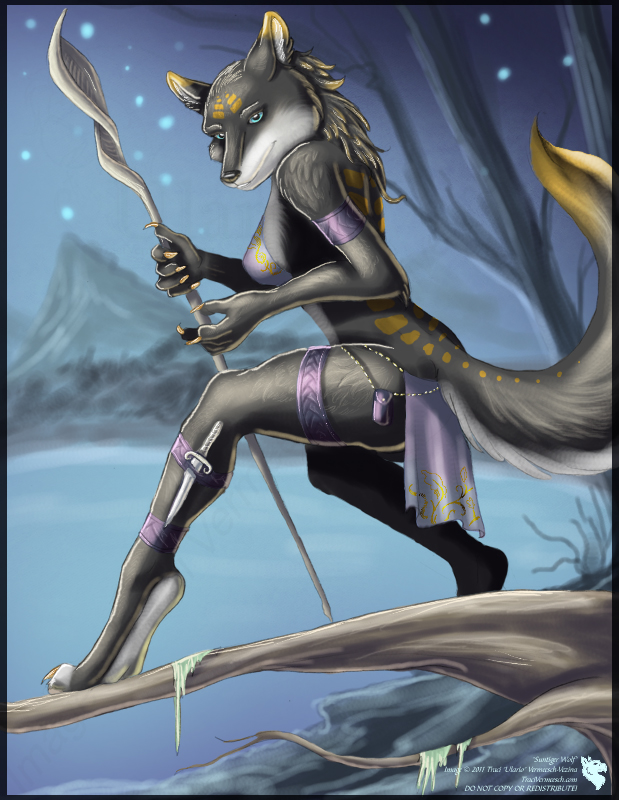 Anthro Wolf Female Gender: female race: wolf