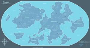 Ibirius - Planetary Map