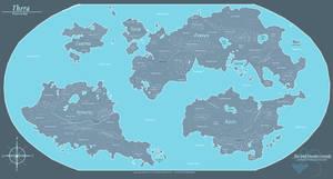 Thera - Planetary Map