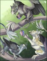 Kalgean Gryphons - Species Concept