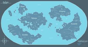 Kalgea - Planetary Map