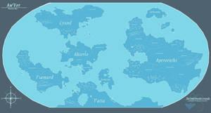Aw'Vor - Planetary Map