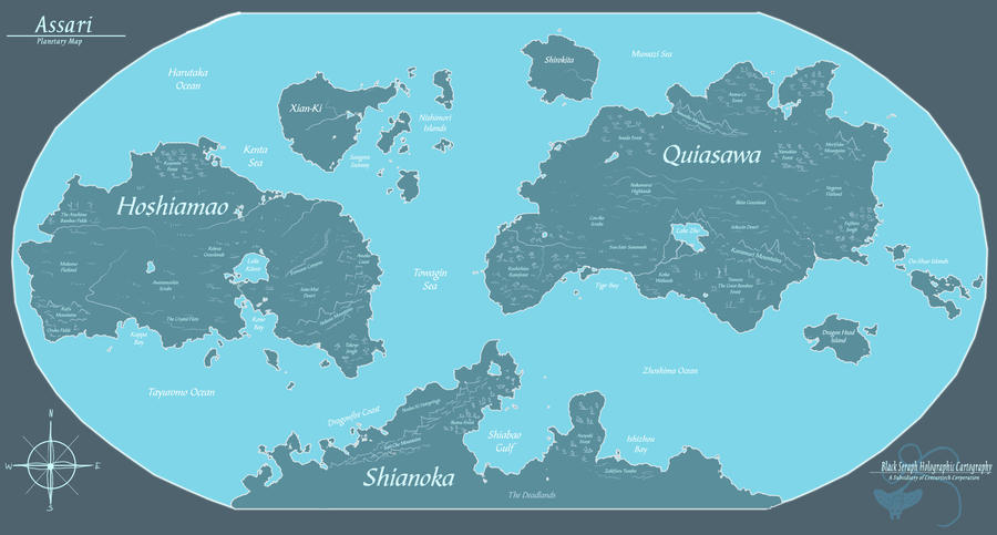 Assari - Planetary Map by Ulario on DeviantArt
