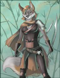 Zaki - Species Concept Commission by Ulario