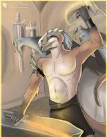 Krasion - The Smithy God by Ulario