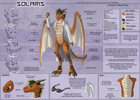 Solaris - Character Sheet Commission