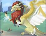 A Dragon In Central Park (FAX)