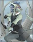 Argonian Archer (Commission)