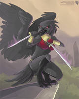 Camilla The Crow (Commission) by Ulario