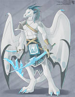 The Frost Dragon (Anthro) by Ulario
