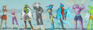 Pokemon UFC Lineup (Commission/Trade)