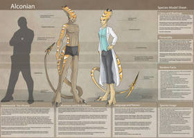 Alconian - Species Sheet by Ulario