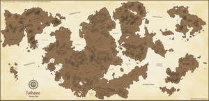 Tathaine - Planetary Map