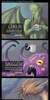 Lovecraftian Brews (Packaging Designs)