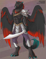 The Blood Eagle Gryphon by Ulario