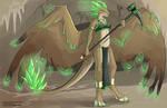 [Character Design]  Adriana the Earth Dragon