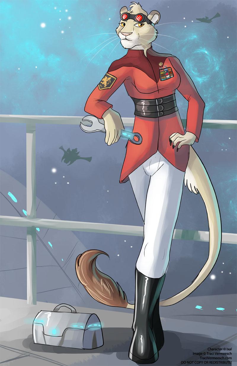 Character Design Commissions Deviantart : Full character design commission aslan female by ulario