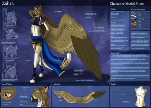 [Personal] Zahra- Character Sheet