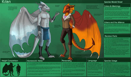 [Personal] Krian - Species Sheet by Ulario