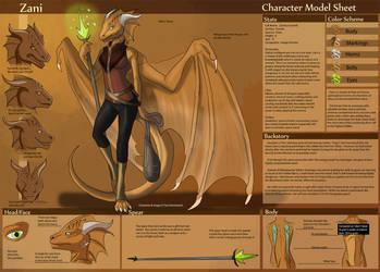 [Personal] Zani - Character Sheet by Ulario