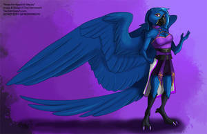 [Character Auction] Nivea The Hyacinth Macaw by Ulario